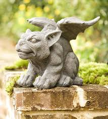 garden gargoyle statue