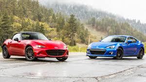 2016 Mazda MX-5 Miata Club vs. 2015 Subaru BRZ - Head 2 Head Ep ...
