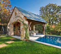 pool house with outdoor kitchen plans. Stone Residence 1 Traditional-pool Pool House With Outdoor Kitchen Plans H