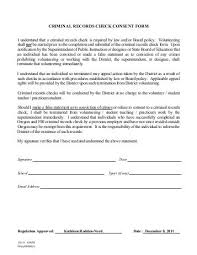 sp167 form criminal history record name search request or