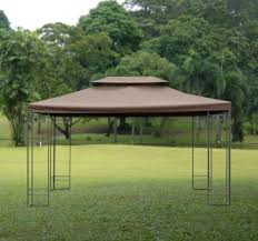 outsunny gazebo replacement top cover