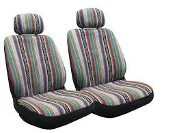 baja inca seat covers pair front row saddle blanket for volkswagen vw beetle