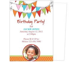 Free Birthday Card Template Word Adorable Lovely Free Birthday Invitations Templates For Free Sleepover