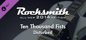 """Rocksmith® 2014 – <b>Disturbed</b> - """"<b>Ten Thousand</b> Fists"""" on Steam"""