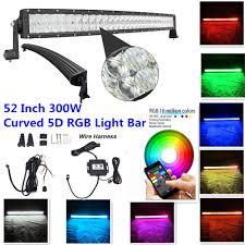 Color Changing Led Light Bar For Truck