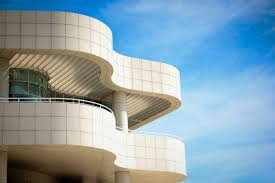 beautiful building with curved architecture