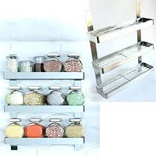 Organic Spice Rack Enchanting Simply Organic Spice Rack Amazon Stainless Steel Kitchen Shelf
