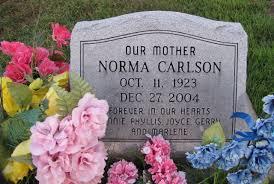 Norma M. Nolan Carlson (1923-2004) - Find A Grave Memorial