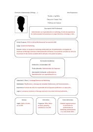 Modelo De Plantilla De Curriculum Combinado Curriculum