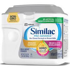 Similac Pro Advance Infant Formula With 2 Fl Human Milk
