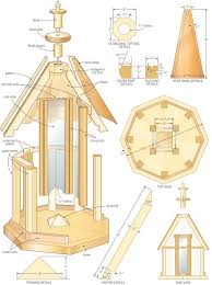 wooden bird feeders plans