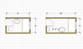 Small Picture Flooring Small Bathroom Floor Plans 5x8bathroom With Dimensions