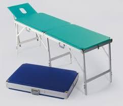 table massage aluminium pliante