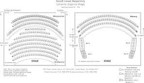 Julianne Argyros Stage Seating Chart