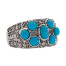 Sterling Silver Turquoise <b>Seven-Stone</b> Ring-SZ <b>7</b> - Sep 26, <b>2019</b> ...