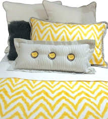 queen gray yellow and white chevron bedding pillow set eclectic kidsyellow grey duvet cover grey and