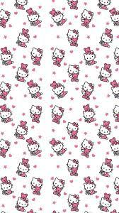 Wallpaper Hello Kitty Characters iPhone