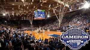 Duke Basketball Seating Chart Cameron Indoor Stadium Duke University Blue Devils