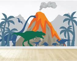 dinosaur wall mural dinosaur wall