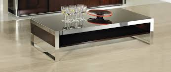 modrest noble modern ebony lacquer coffee table