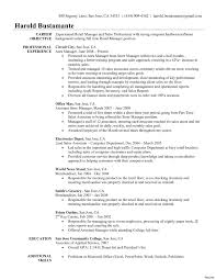 Objective For Resume Retail Management Sfonthebridge Com