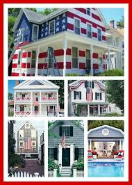 decorated for the 4th of july decor ideas