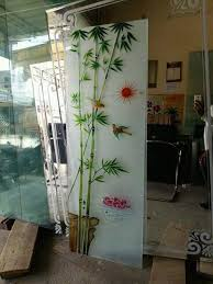 glass design for colour etching door