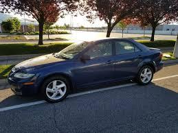 mazda 6 2004 blue. 2004 mazda 6 i grand touring gasoline sedan fwd blue manual