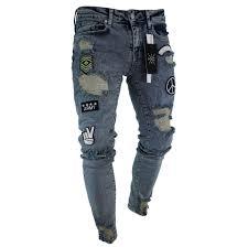 خريطة وهمي التوصيل pantalones jeans
