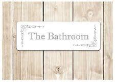 bathroom door signs.  Signs U0027THE BATHROOMu0027 Door Sign Metal Plaque For Toilet  Bathroom Or Own Text  U0027 With Signs