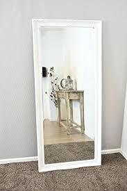 white full length mirror. Delighful Mirror Large White Floor Mirror Bevelled Full Length  And