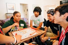partints live and dine together in a stanford undergraduate residence hall along with the smysp counselors who also serve as teaching istants