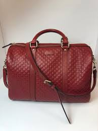 red calf leather micro gg guccissima pattern detachable adjustable shoulder strap with a 19 drop dual handles with a 4 5 drop top zip close