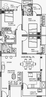 20 x 40 floor plans best of 20 x 60 house plans east facing house plans