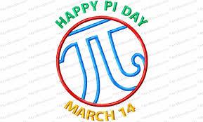 Math Embroidery Designs Happy Pi Day Applique Embroidery Design