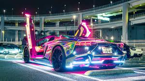 Neon Lamborghini Wallpapers - Wallpaper ...