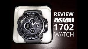 <b>Smael</b> Sport Review Waterproof <b>LED Digital Watch</b> for <b>Men</b> - DARK ...