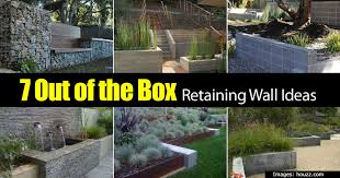 backyard retaining wall designs retaining wall ideas how to use a wonderful landscape