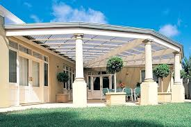 installing tuftex roof panels pergola with solar control silver