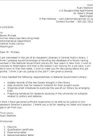 Library Shelver Cover Letter Library Shelver Resume Librarian Cover