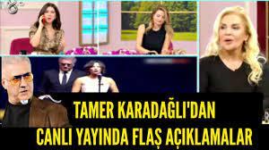 Tamer Karadağlı ve Nihal Yalçın'ın 'ödül' gerginliği - YouTube