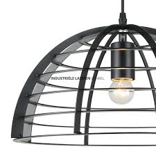 Hanglamp Zwart Scandinavisch Design Neptunus 551901