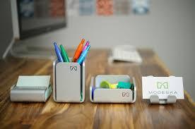 modern office desk accessories. Desk Accessories Opulent Design Modern Office Exquisite Modeska Review The Gadget Flow