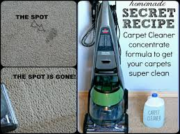 best homemade carpet cleaning solution for machines