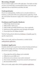 apply to ucf by going to the and applying online apply to ucf college application undergraduate pdf library
