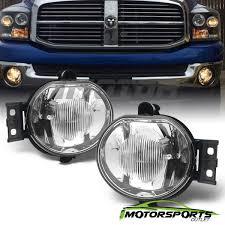 2007 Dodge Ram 2500 Fog Light Bulb Size Details About 2002 2008 Dodge Ram 1500 2500 3500 2004 2006 Dodge Durango Glass Fog Lights Pair