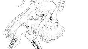 Free Angel Coloring Pages Pictures Of Angels To Color Angels