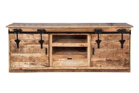 delighful farmhouse restoration media console with farmhouse barn style sliding doors throughout e