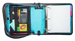 Binder 3 Inch Case It T641p Zipper Binder 3 Inch 5 Tab Expanding File Zip Pink Flower Girls