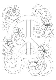 Peace And Love Coloring Pages Love Coloring Sheets Free Printable